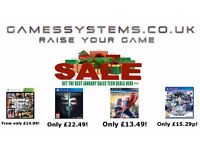 January Sales! Save up to 50% on Xbox 360 PS3 Xbox One PS4 PS Vita PC Toys DVD Amiibo Wii U items!
