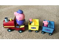 Peppa Pig Grandpa Pig Train Gertrude Play Set