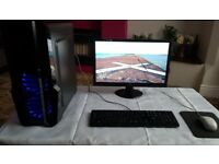 "Intel i5 3570K PC Tower + AOC 21.5"" HDMI Monitor"