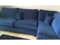 Large Corner Sofa, Perfect for Office Reception Area