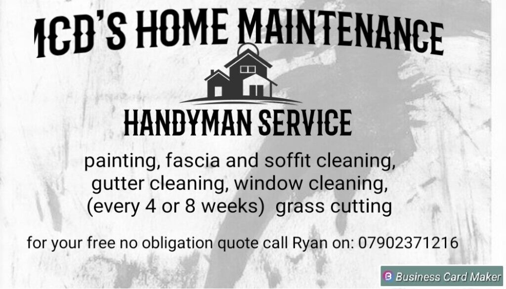 handyman available painting, gardening, gutter cleaning