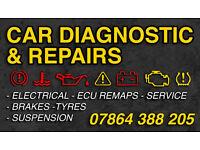 CAR DIAGNOSTICS & REPAIRS ELECTRICAL AND MECHANICAL REPAIRS