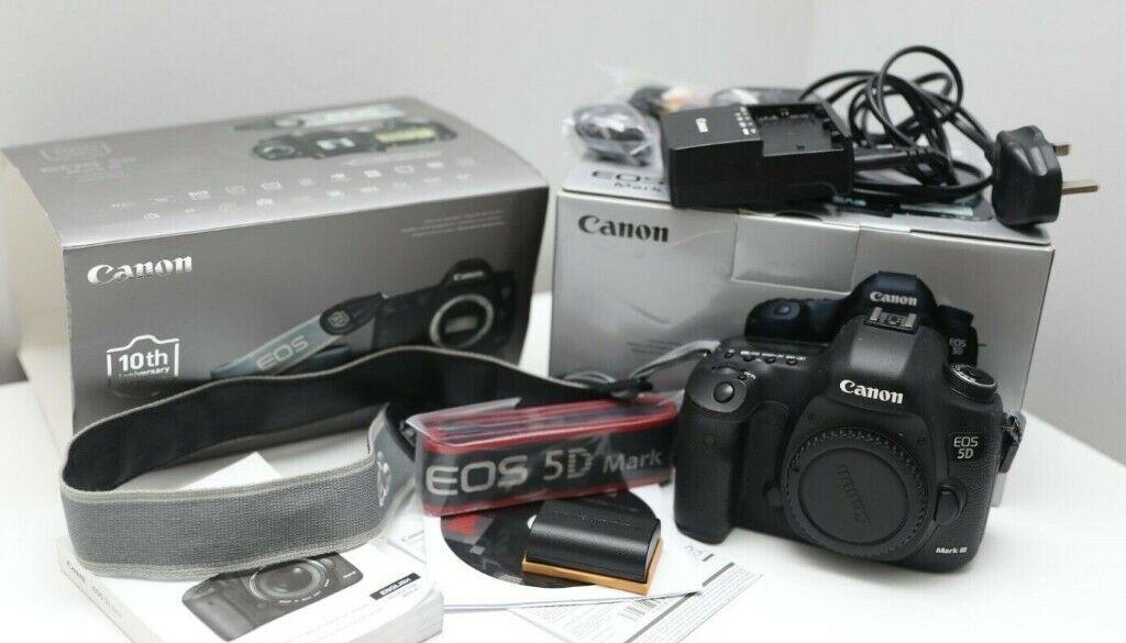 Canon EOS 5D Mark III DSLR Camera Body- UK | in Kensington, London | Gumtree