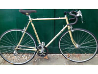 60 cm large frame Claud Butler racing race road city bike racer Reynolds 531 bicycle