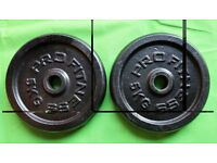 PROFITNESS weight plates 2x5kg