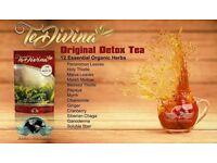Te Divina natural organic detox tea