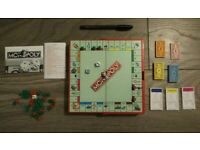 VGC Hasbro Monopoly Games Travel Pocket Size Grab and Go Game