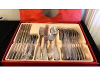 John Lewis Roman Conrad 24 Piece Cutlery Set Cost £90 Accept £20