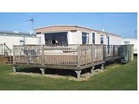 6 berth 3 bed caravan,ingoldmells,skegness,DOG FRIENDLY,fri-mon 5-8th may £120 plus bond,
