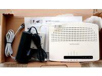 Tecnicolor modem router for wireless wifi broadband