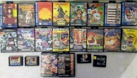 Sega Megadrive Mega Drive Games