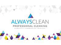 Always Clean -Professional Domestic & Commercial Cleaning Service