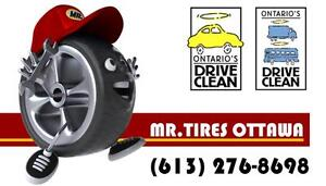 #TELUSHelpsMeSell USED&NEW TIRES - WINTER TIRES AND ALLSEASONS TIRES - PROFESSIONAL TIRE INSTALLATION&BALANCE SERVICES
