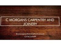 C Morgan's carpentry and joinery