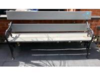 Heavy garden bench open to offers