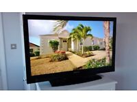 """40"""" TECHWOOD FULL HD 1080p TV BUILT IN FREEVIEW CHANNELS STAND REMOTE CONTROL & FREE DELIVERY."""