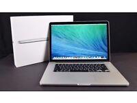 15.4' Apple MacBook Pro Retina 2.4GHz i7 Quad Core 8GB Ram 256GB SSD Vectorworks AutoCad Rhinoceros