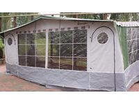 CARAVAN AWNING ISABELLA CHALLENGER, EXCELLENT CLEAN CONDITION, CAN DELIVER