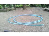 Blue MDPE Water Pipe 50mm