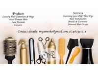 Afro Hair stylist/ EUROPEAN Hair styles, Braids, Cornrows, WIGS, Weaves (weave fixing)