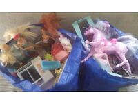 2 large bags of mixed toys