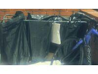 Colapsable composting bins