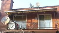 Selling 4 x  satellite dishes with LNB