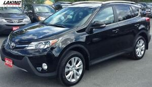2015 Toyota RAV4 Limited AWD Navigation Heated Leather Seats