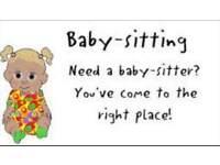 Babysitter £7/hour