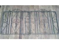 Pair of iron gates