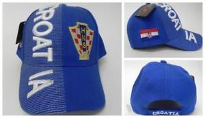New, FIFA Soccer World Cup Hat Cap, Adjustable One Croatia