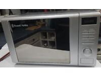Russell Hobbs Digital Microwave oven Silver RHM2064S - 20L