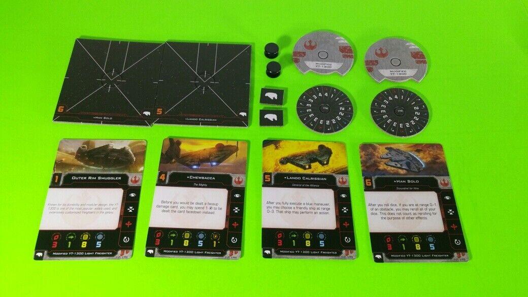 X-Wing Miniatures Game 2.0 2nd Edition Supplies - Single Conversion Kits 2.0 Millennium Falcon (conversion kit)