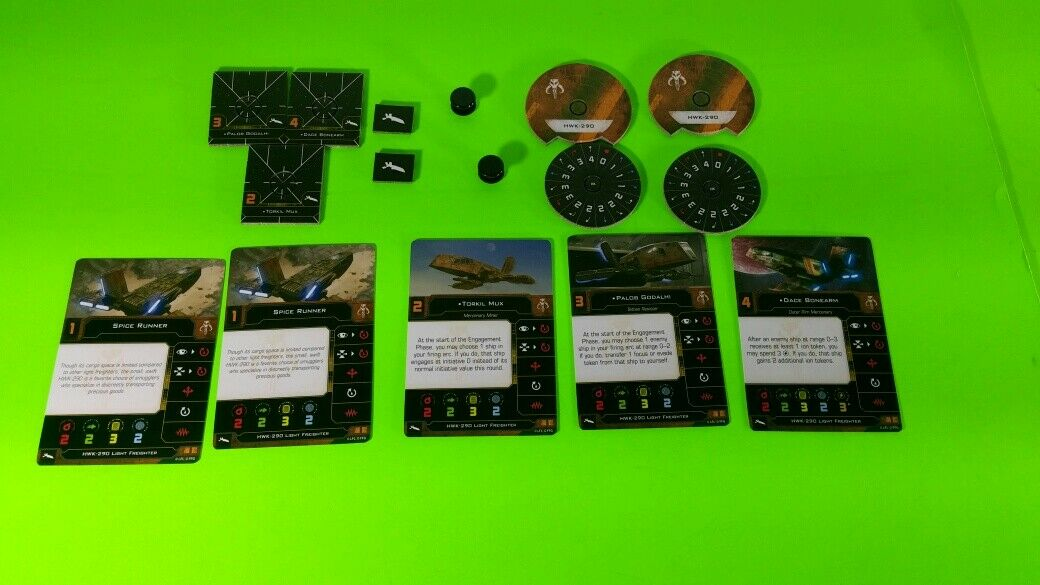 X-Wing Miniatures Game 2.0 2nd Edition Supplies - Single Conversion Kits 2.0 HWK-290 Scum (conversion kit)