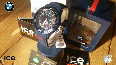 BRAND NEW - BMW MOTORSPORT Ladies Blue&White Edition 43mm Watch BM.SI.DBE.U.S.13