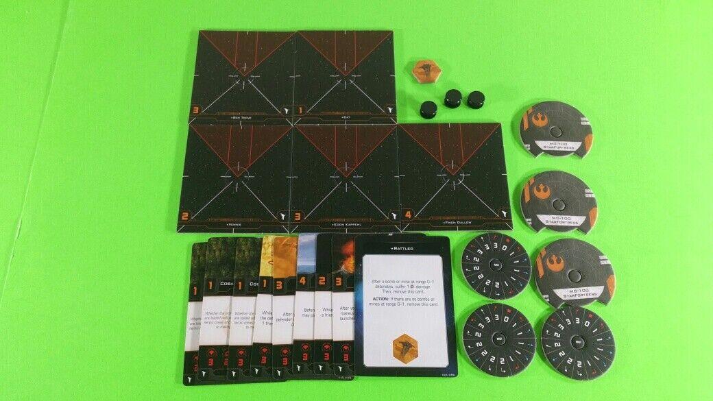 X-Wing Miniatures Game 2.0 2nd Edition Supplies - Single Conversion Kits 2.0 MG-100 StarFortress (conversion kit)
