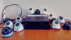 Secuity Camera with DVR