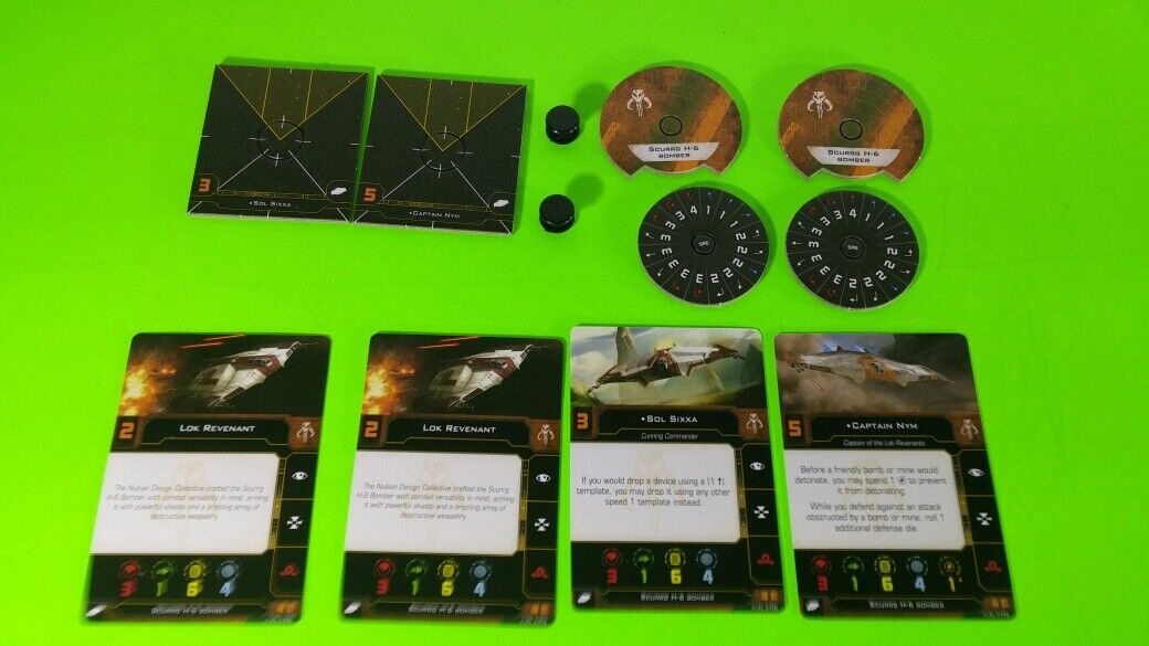 X-Wing Miniatures Game 2.0 2nd Edition Supplies - Single Conversion Kits 2.0 Scurrg H-6 Bomber (conversion kit)