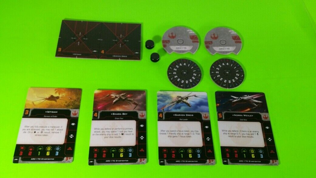 X-Wing Miniatures Game 2.0 2nd Edition Supplies - Single Conversion Kits 2.0 ARC-170 (conversion kit)