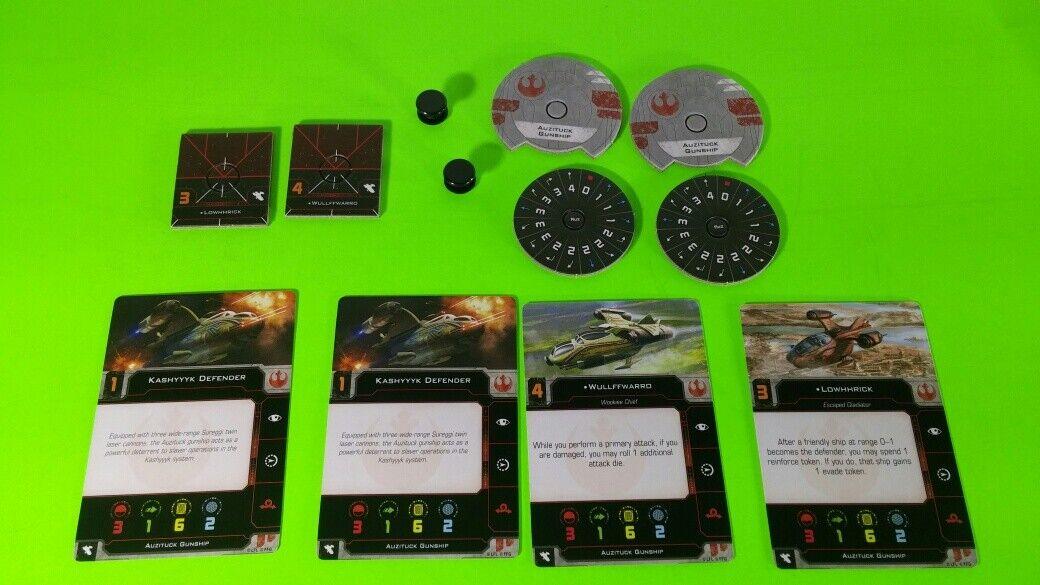 X-Wing Miniatures Game 2.0 2nd Edition Supplies - Single Conversion Kits 2.0 Auzituck Gunship (conversion kit)