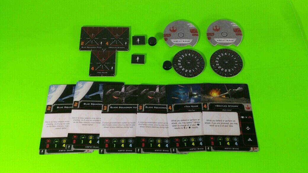 X-Wing Miniatures Game 2.0 2nd Edition Supplies - Single Conversion Kits 2.0 B-wing (conversion kit)