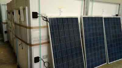 Kit Solar Casa Campo 3000W 24V 1760 W hora 500 amp baterias