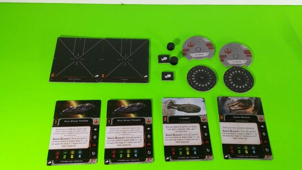 X-Wing Miniatures Game 2.0 2nd Edition Supplies - Single Conversion Kits 2.0 YT-2400 (conversion kit)