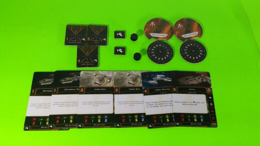 X-Wing Miniatures Game 2.0 2nd Edition Supplies - Single Conversion Kits 2.0 Y-wing Scum  (conversion kit)