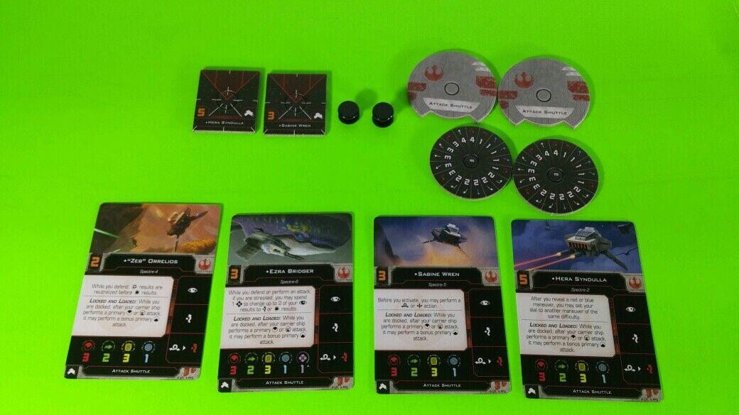 X-Wing Miniatures Game 2.0 2nd Edition Supplies - Single Conversion Kits 2.0 Phantom I (conversion kit)