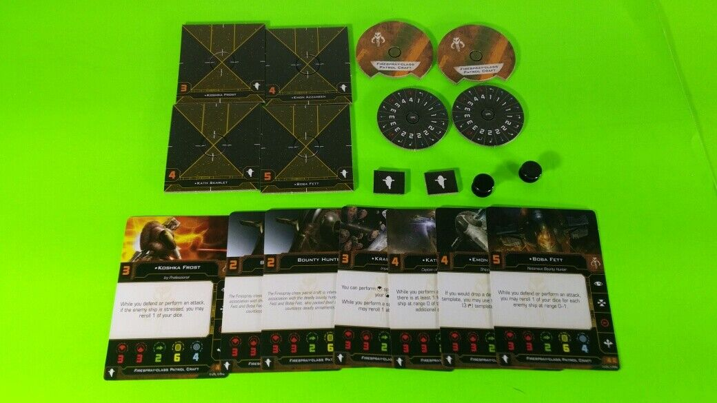 X-Wing Miniatures Game 2.0 2nd Edition Supplies - Single Conversion Kits 2.0 Slave I Scum (conversion kit)