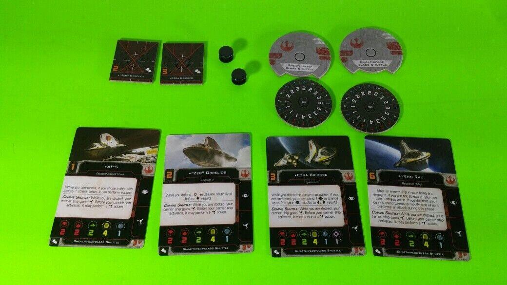 X-Wing Miniatures Game 2.0 2nd Edition Supplies - Single Conversion Kits 2.0 Phantom II (conversion kit)