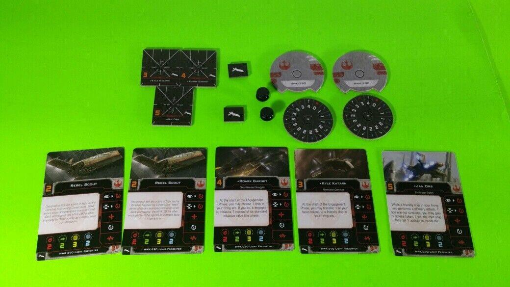 X-Wing Miniatures Game 2.0 2nd Edition Supplies - Single Conversion Kits 2.0 HWK-290 Rebel (conversion kit)