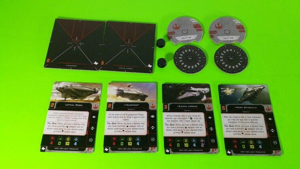 X-Wing Miniatures Game 2.0 2nd Edition Supplies - Single Conversion Kits 2.0 Ghost (conversion kit)