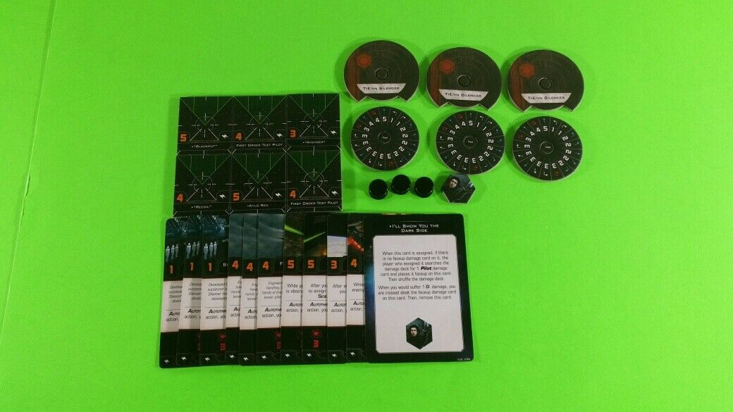 X-Wing Miniatures Game 2.0 2nd Edition Supplies - Single Conversion Kits 2.0 TIE/vn Silencer (conversion kit)